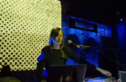 Gudrun Gut live @ Babylon Istanbul